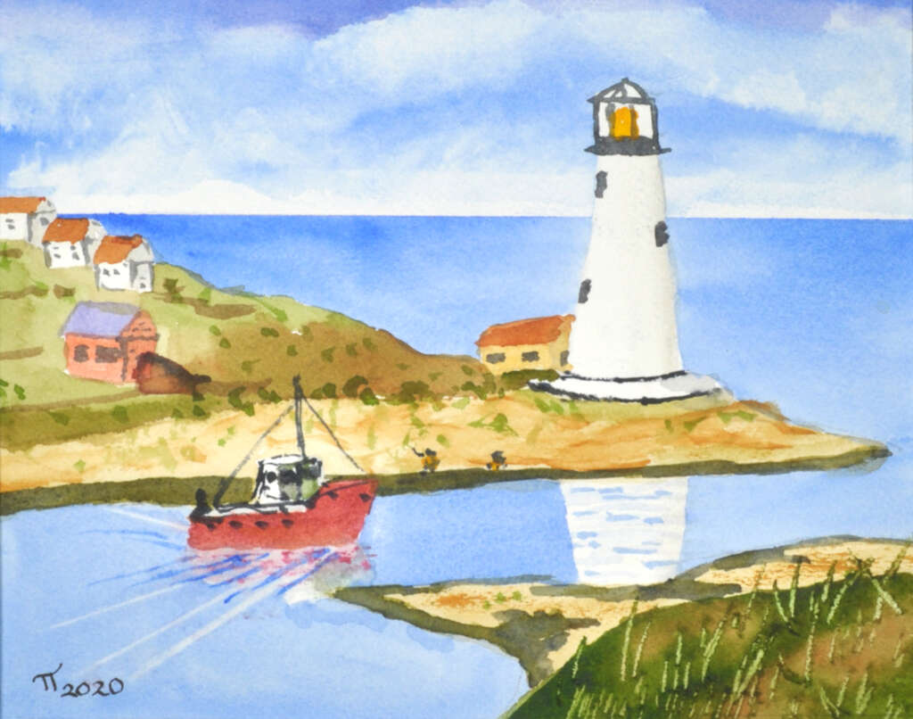 Nova Scotia Maritime, final, signed, without mat
